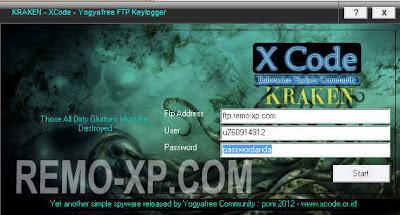 kraken keylogger