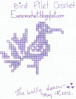 Bird Filet Crochet