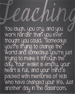 I Love Posting Quotes U0026 Sayings And When I Stumbled Across This, I Knew I  Had To Post It! With All We Go Through With Teaching, This Describes Our  Career ...