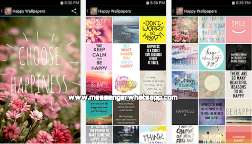 Fondos gratis con Happy Wallpapers for WhatsApp