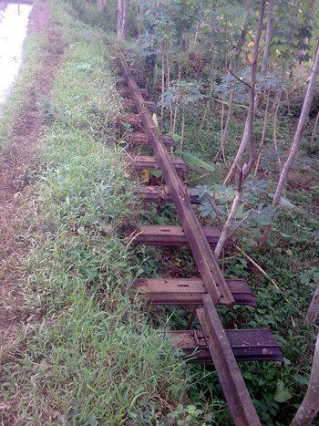 Rel jalur Purwokerto Wonosobo