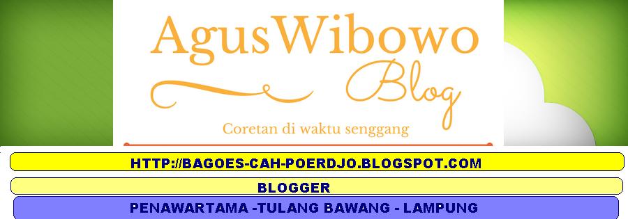 AgusWibowo Blog