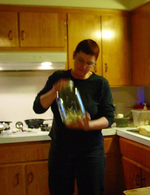 fresh garlic, jar method