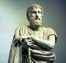 El poeta griego Homero