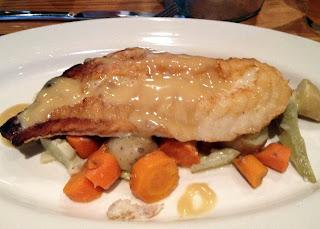 Pan Roasted Monkfish with Artichoke Barigoule