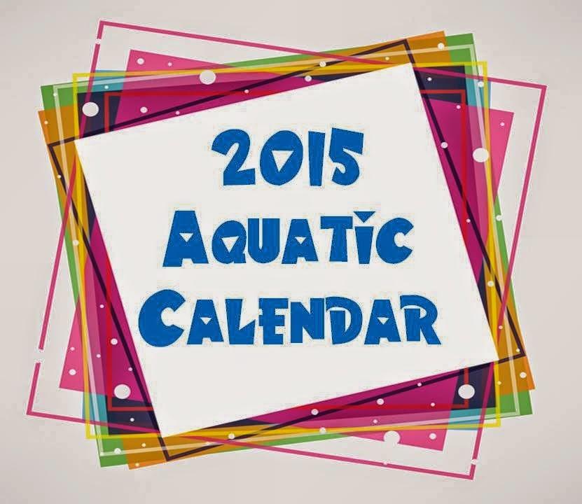 2015 Aquatic Calendar