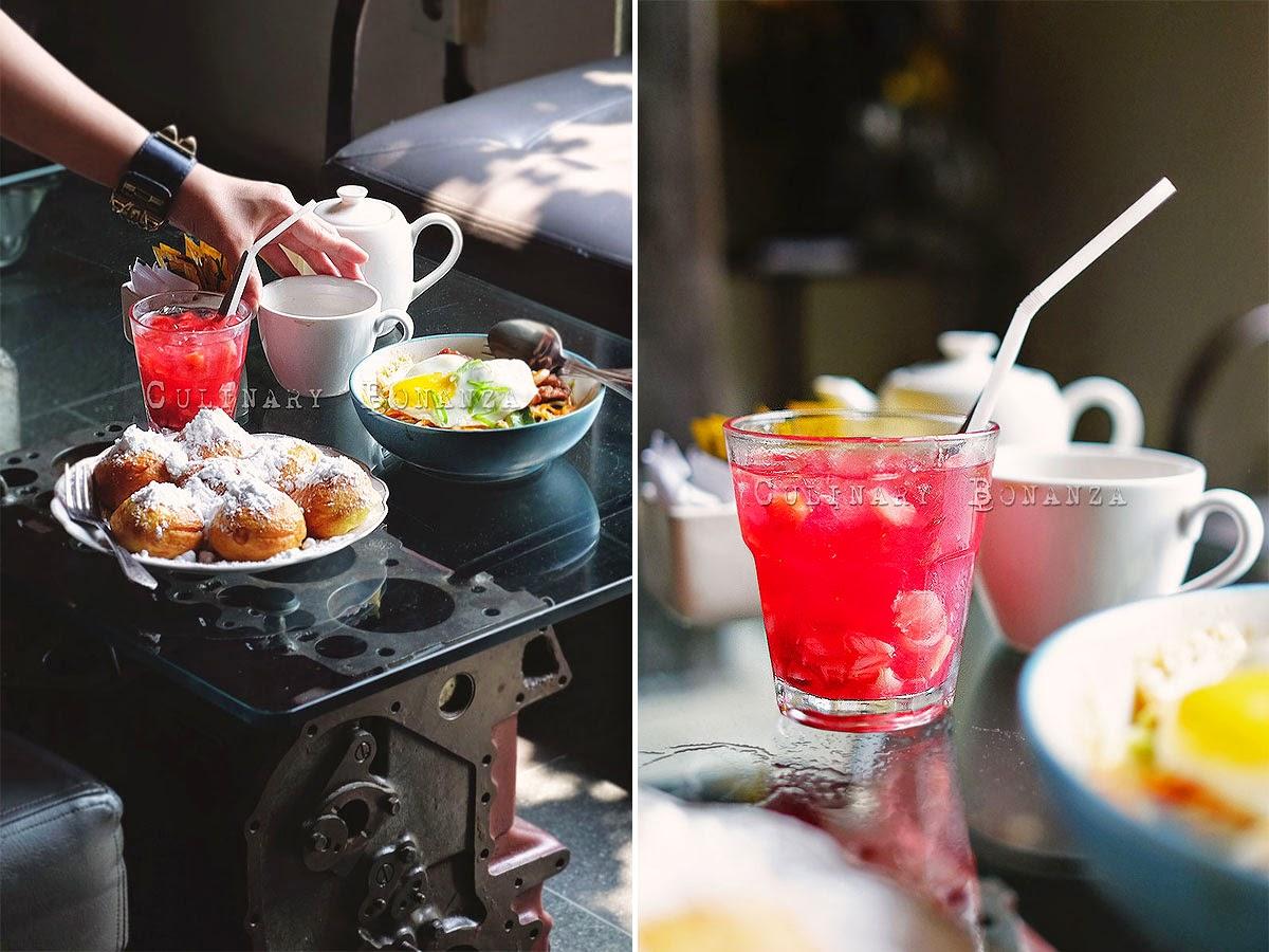 Strawberry Caipiroska Mocktail
