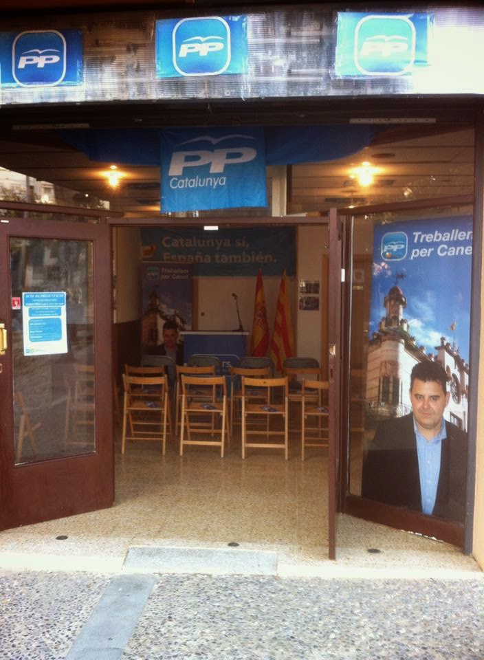 LOCAL ELECTORAL PP CANET DE MAR