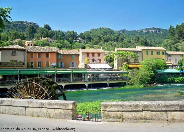 Fontaine-de-Vaucluse, Vaucluse, França