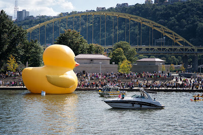 Giant Rubber Ducky - Pittsburgh, PA