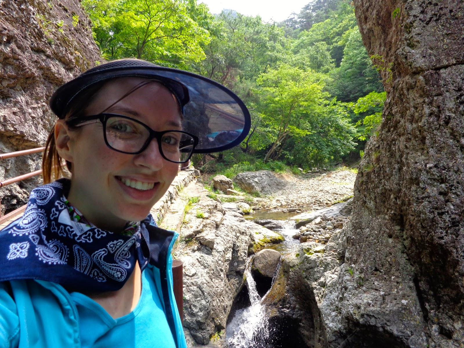 Hiking in Andong, South Korea