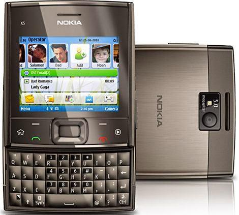 Harga Hp Nokia x5