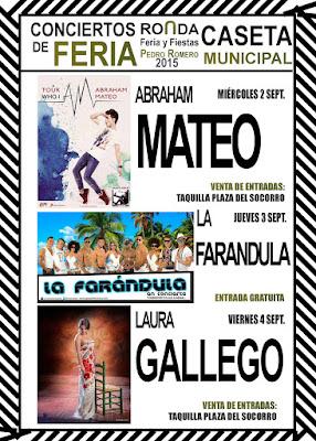 Ronda - Feria de Pedro Romero 2015 - Conciertos