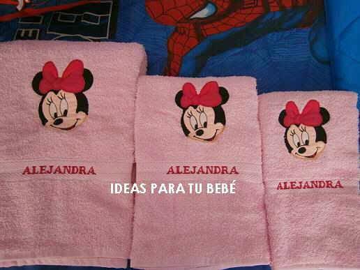 Quiero Aprender Hacer Juegos De Baño:Pedido Baby Minnie- Lucía (Galicia) Manualidades / Costura maric1970