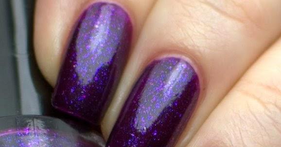 Jas's Blingtastic Nails: Ulta3 BlackBerry Tart with Revlon ...