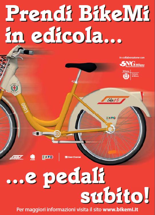 BikeMi in edicola