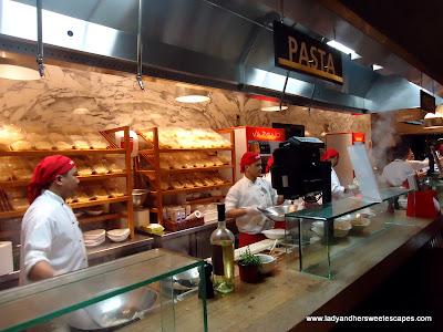Vapiano's Pasta Station