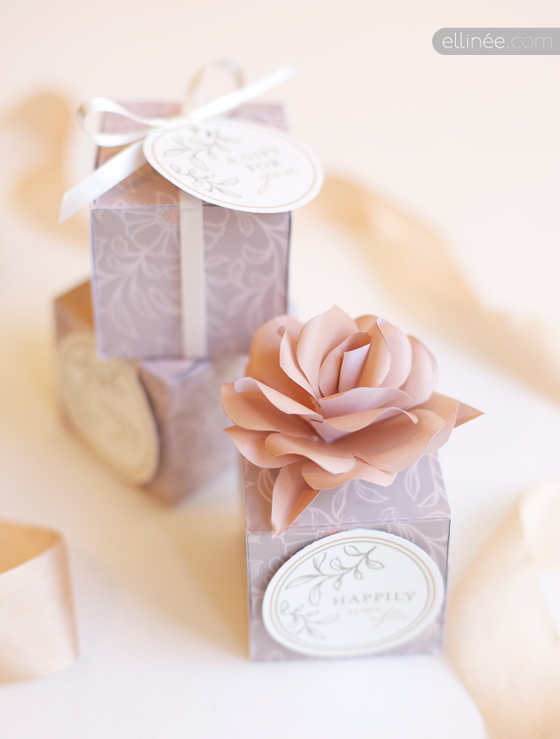 elabora tus propias cajitas de recuerdos para boda