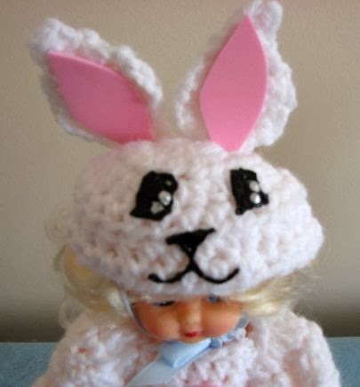 Donna s crochet designs blog of free patterns spring time doll bunny