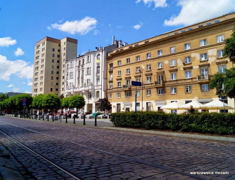 Wola Chłodna 25 kamienica tory kładka getto Warszawa warszawskie mozaiki