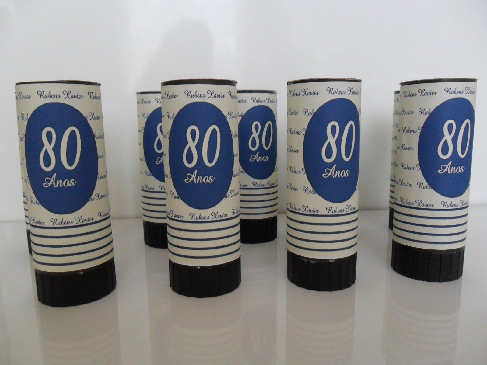 A Festa Festa 80 Anos Lembrancinhas