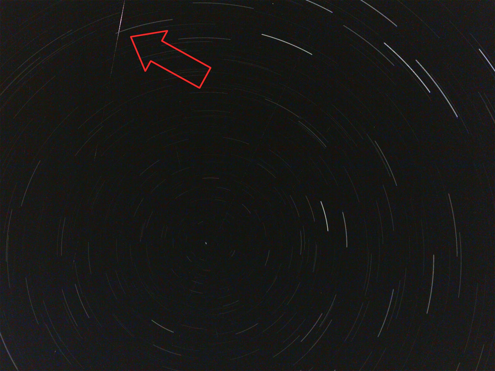 iphone meteor photo