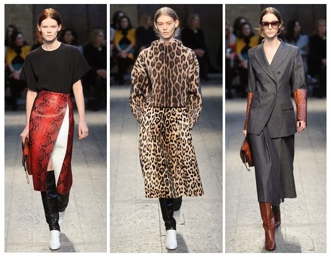 Animal prints as a trend for Autumn Winter 2014