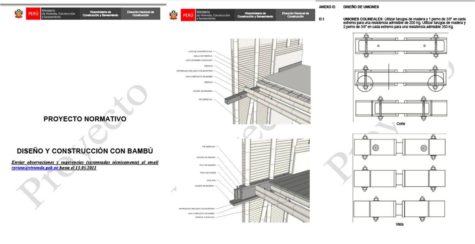 Arquitectura En Tierra Fau Pucp Charla El Bamb