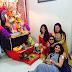 Photos: Ganpati Bappa arrival at Bhojpuri Celebs Home