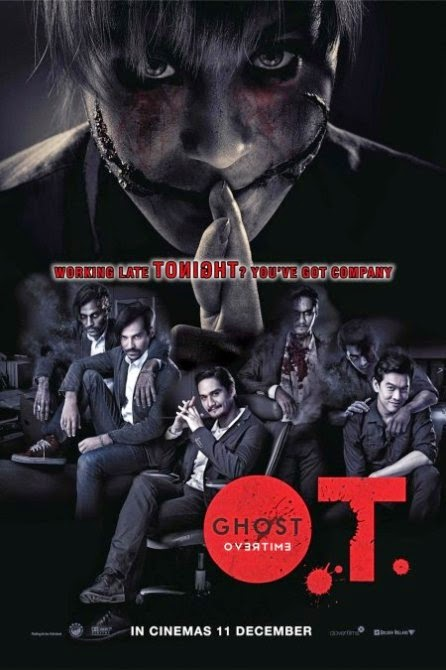 O.T Ghost Overtime Movie Poster