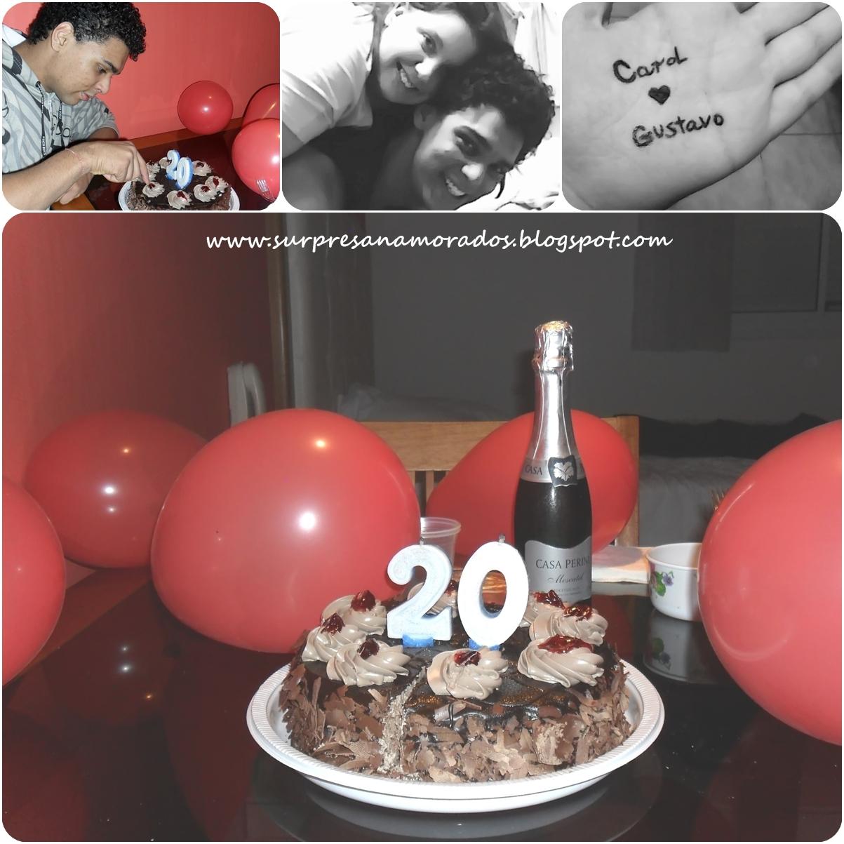Aniversário Surpresa do Namorado  Surpresas para Namorados