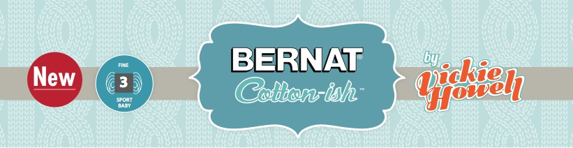 Bernat Cotton Ish By Vickie Howell In Stores This Week Vickie Howell