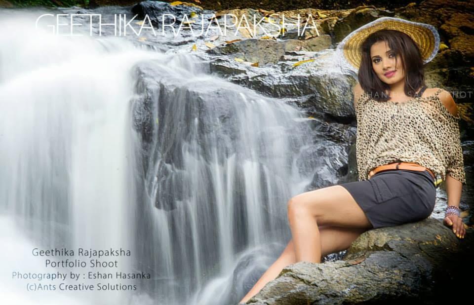 Geethika Rajapaksha sexy legs