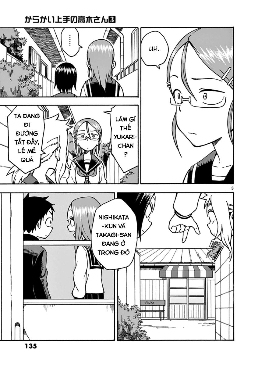 Karakai Jouzu no Takagi-san chap 26 Trang 3 - Mangak.info