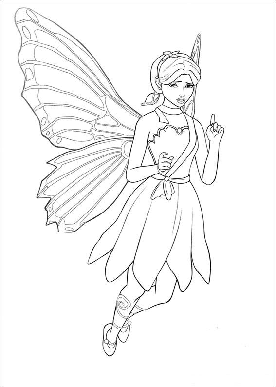 bing barbie ken coloring pages - photo#18