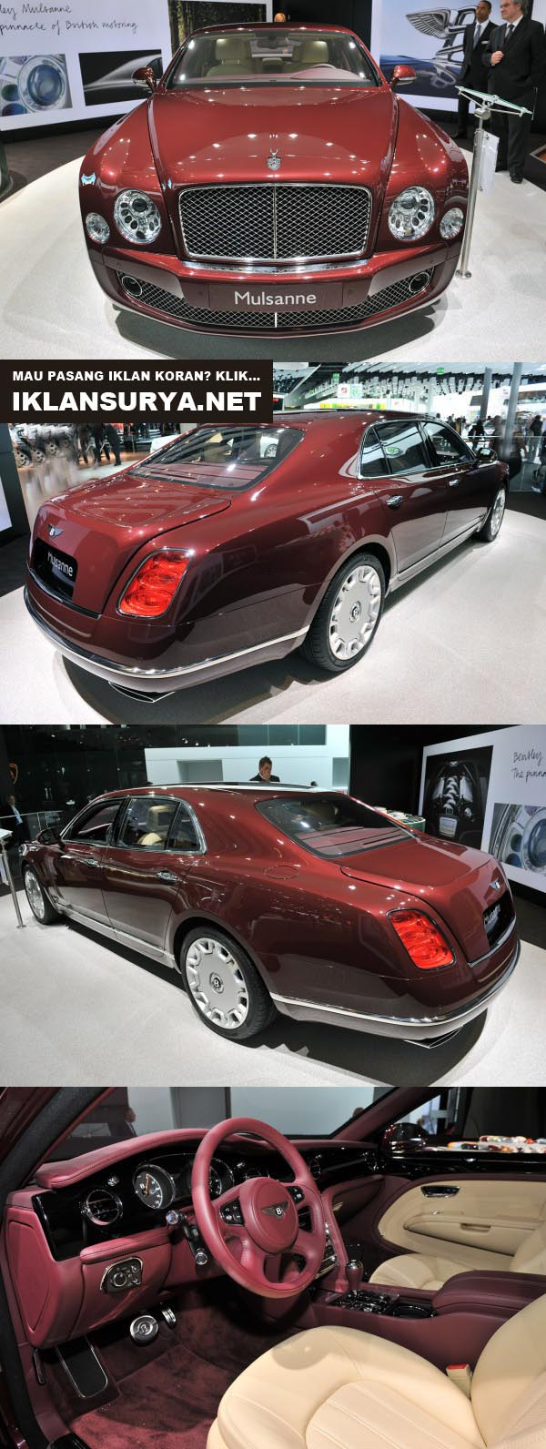 Modifikasi Mobil Bentley Mulsanne, IT Full Mewah!