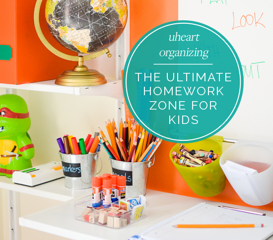 UHeart Organizing: The Ultimate Homework Zone for Kids