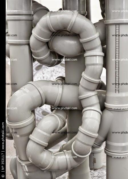 tuberías retorcidas