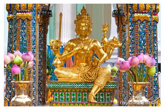 Four Faces Buddha, Thailand