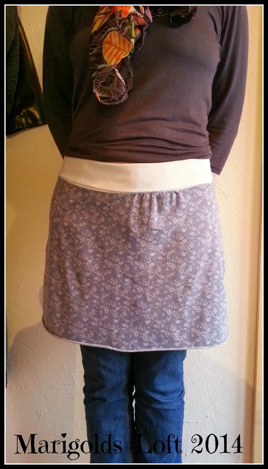 Sewing with knits easy skirt