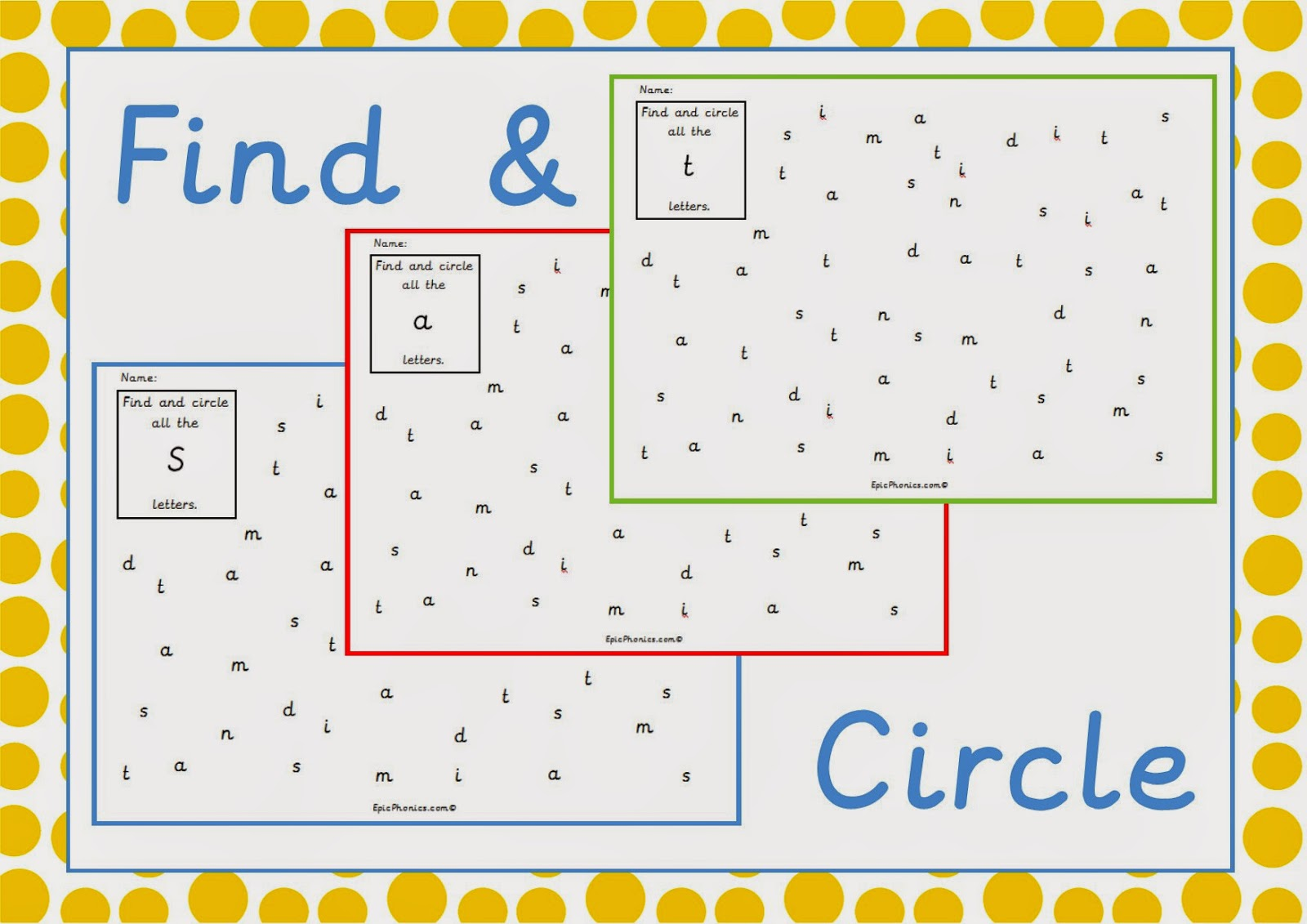 Simply Kids Learning: Phonics Phase 2 Printable Activity Worksheet