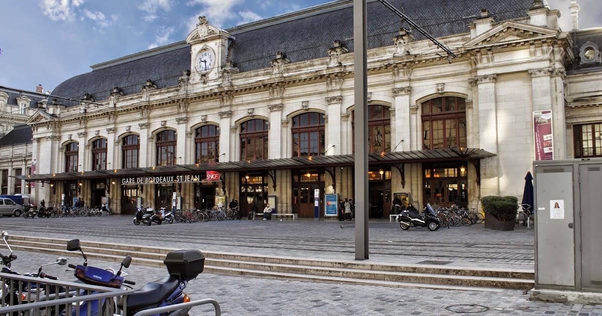 Bordeaux et ses environs la gare saint jean for W architecture bordeaux