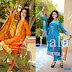 Summer Apparel Sensuous Embroidered Shalwar Kameez Collection For Party Wear By Lala Textiles