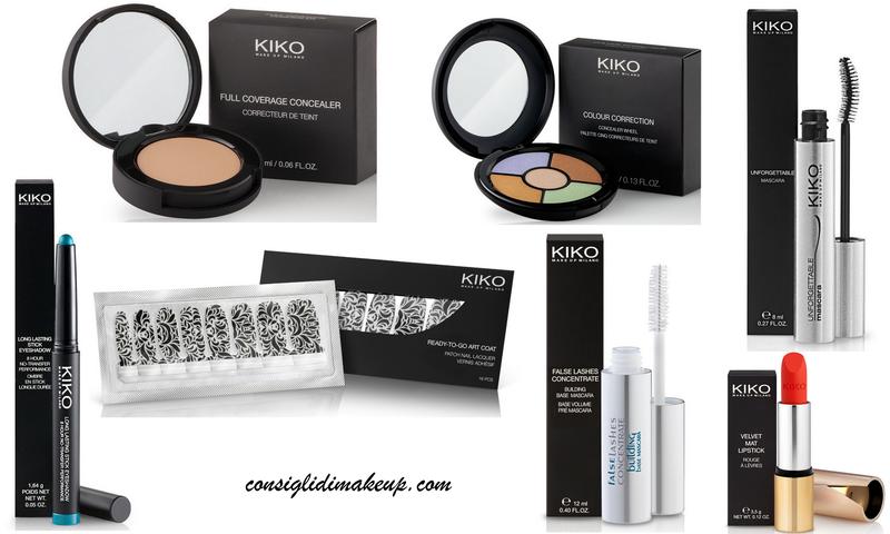 Prodotti Top Kiko Cosmetics