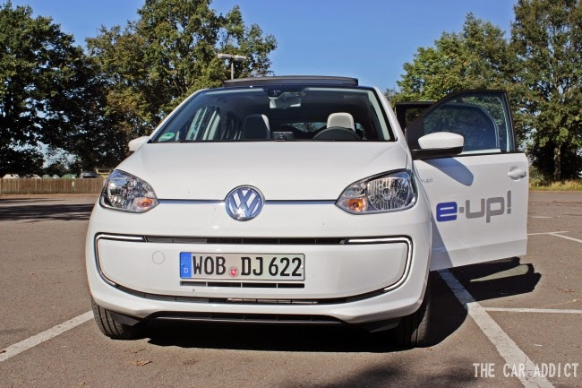 Volkswagen e-up! (white)