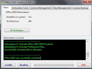– Office 2010 Toolkit – Ativador do Office 2010 – Baixar