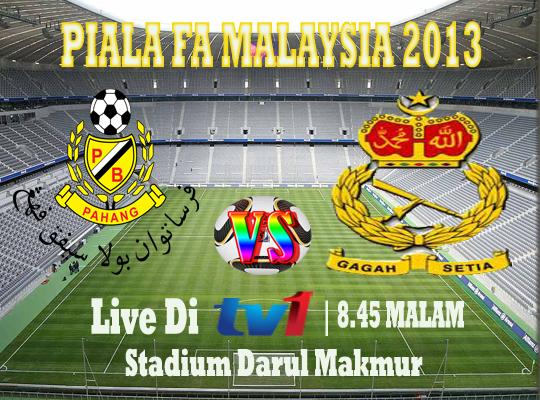 Live Streaming Pahang vs ATM Tentera Darat 26 Februari 2013 | Piala FA 2013