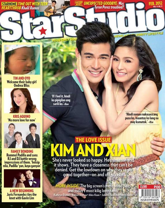 "Kim Chiu and Xian Lim ""KimXi"" as they called by their fans, the"