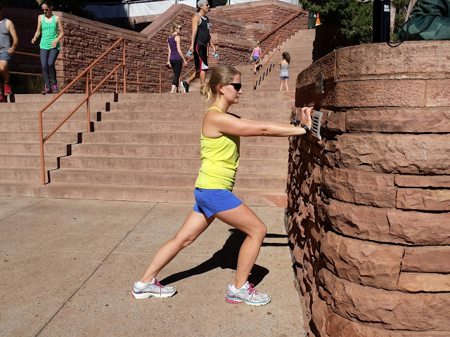 Red Rocks Workout - Stretching