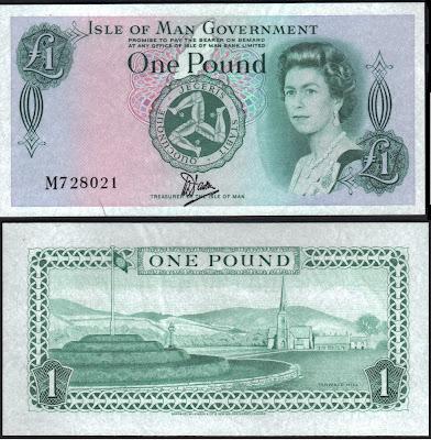 Isle of Man 1 Pound 1983 P# 38a
